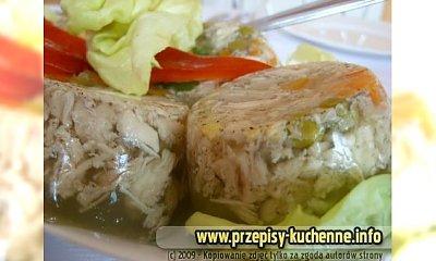 Kurczak w galarecie z warzywami