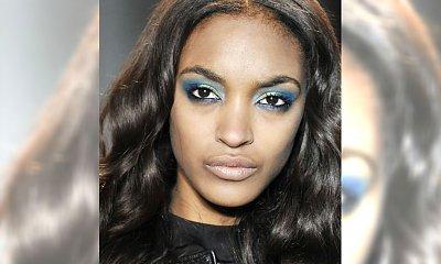 Pomysł na Sylwestra: makijaż w kolorze blue u Zac Posen