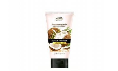 Testujemy:  kokosowa ekspresowa odżywka do włosów Sweet Fantasy