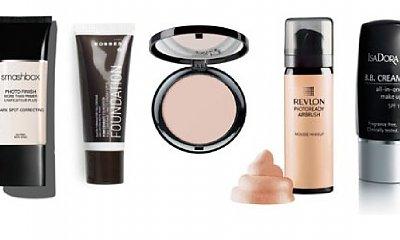 Przegląd kosmetyków do make up'u