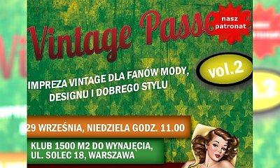 Targi mody Vintage Passage vol.2 już 29.09 w Warszawie!