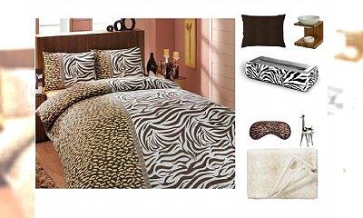 Sypialnia w iście zwierzęcym klimacie
