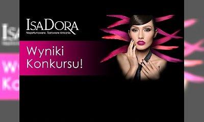 ISADORA - sprawdź wyniki konkursu!