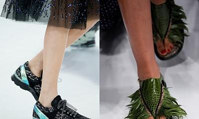 Buty damskie haute couture za... 12 tys. złotych