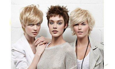 Krótkie fryzury damskie: artystyczny nieład