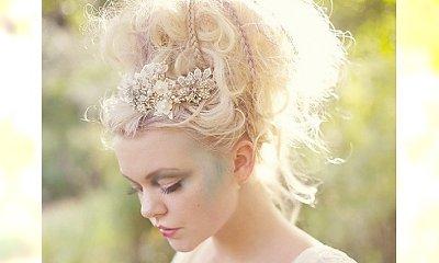 Niech się dużo dzieje - fryzury ślubne z rozmachem