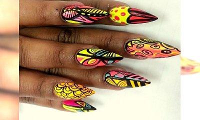 Letnie motywy w manicure - 33 wzorki na paznokcie