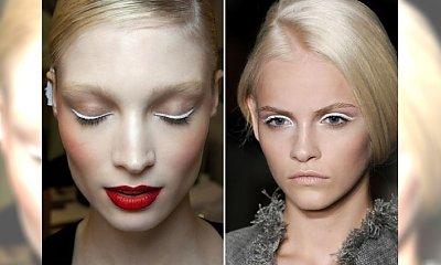 Make-up trend: makijaż oczu z białą kreską