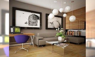 STYLowe wnętrza: projekty salonów