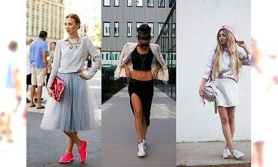 Wasze stylizacje: spódnica na sportowo