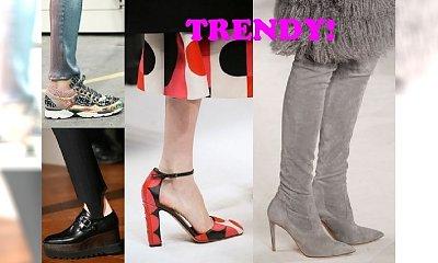 Trendy jesień-zima 2014/2015 - modne buty