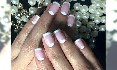 Prosty manicure na powrót z urlopu