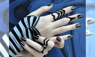 Trendy manicure jesień 2014 - czarne paznokcie