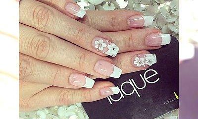 Zawsze dobry wybór - manicure francuski