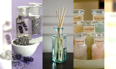 Leczenie zapachem - aromaterapia