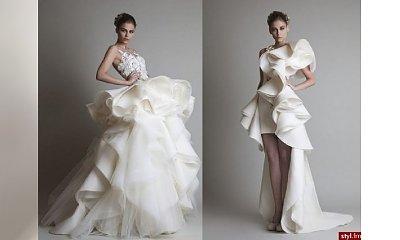 Więcej znaczy więcej, czyli suknie ślubne na bogato