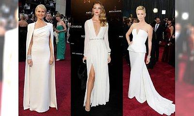 Biała suknia wieczorowa - patent nie tylko na ślub