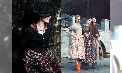 Moda z korzeniami w tle - folkowe spódnice