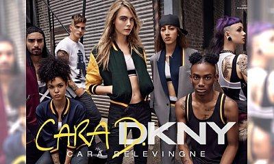 Pierwsze zdjęcia kampanii autorskiej kolekcji Cary Delevingne dla DKNY