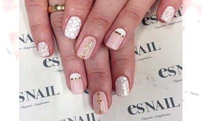 Propozycje manicure dla panny młodej