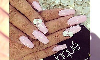 Trendy manicure na jesień - pastelowe paznokcie