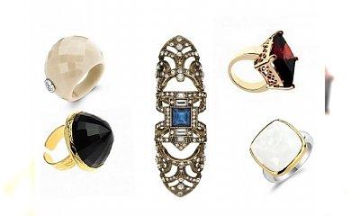 Wybieramy spektakularny pierścionek!