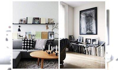 STYLowe wnętrza: domowa biblioteczka