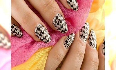 Pepitka - ponadczasowy wzór teraz też na paznokciach!