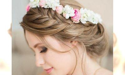 Pleciemy wianki z włosów - trendy ślubne na 2015 rok