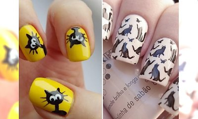 Mruczący manicure