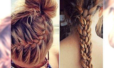 Dziewczęce fryzury do szkoły