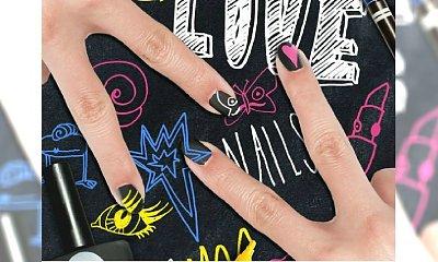 Chalkboard manicure, czyli paznokcie jak szkolna tablica