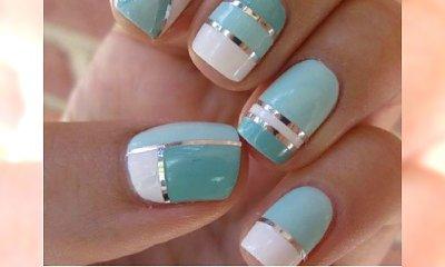 Bawimy się paskami do french manicure! Zobaczcie najlepsze wzorki na paznokcie