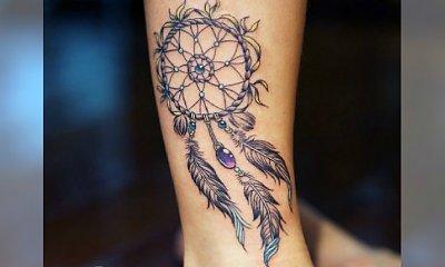 Tatuaż dreamcatcher - łapacz snów. Hot trend w tatuażu