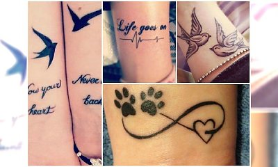 Tatuaże na nadgarstek - modne napisy i symbole