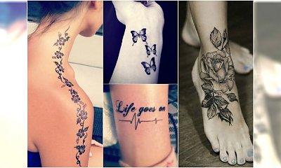Najlepsze tatuaże dla dziewczyn. 37 najmodniejszych motywów