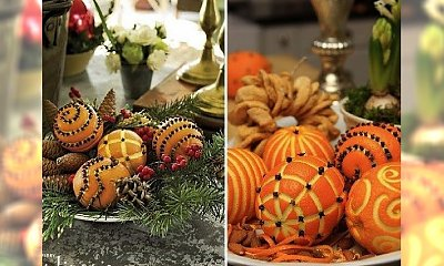 DIY: Najpiękniejsze świąteczne dekoracje z pomarańczy