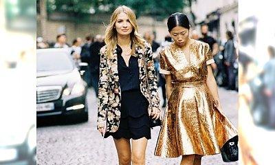 Metaliczna zima - Wybieramy najlepsze stylizacje w kolorach złota i srebra