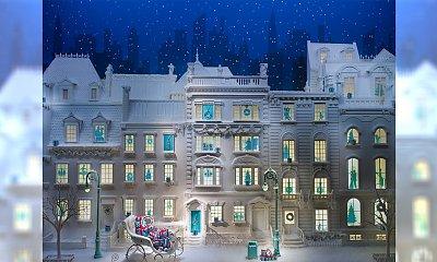 Niesamowite, świąteczne wystawy nowojorskich domów handlowych