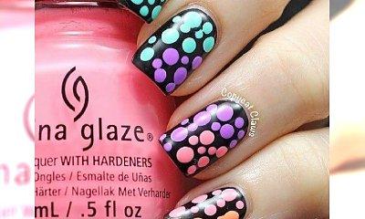 Grochy i groszki, czyli subtelny manicure!