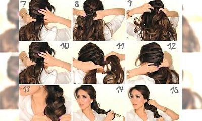 TUTORIAL: Romantyczne fryzury na randkę z ukochanym. Oczaruj Go swoim wyglądem!