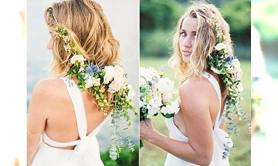 Długie fryzury ślubne. Zobacz romantyczną alternatywę dla ślubnych upięć