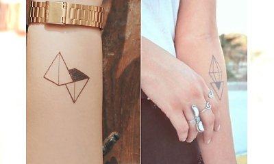 Minimalizm górą: tatuaże geometryczne podbijają serca kobiet