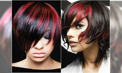 Ogniste pasemka - ożywiamy ciemne włosy na wiosnę