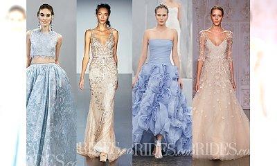 Kolorowe suknie ślubne. Białe kreacje są passe?