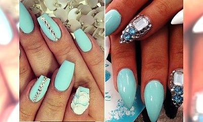 Mint manicure - świeżość i styl na weekend!
