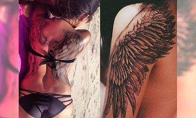 Skrzydła anioła i ptaka: najpiękniejsze wzory tatuażu na plecy, kark i ramiona
