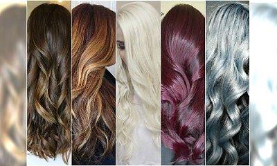 Modne kolory włosów 2015 - wielki przegląd trendów