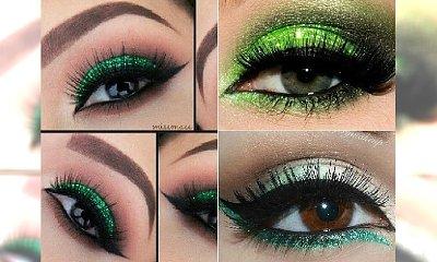 Zielony makijaż oczu. Jak okiełznać ten trudny kolor?