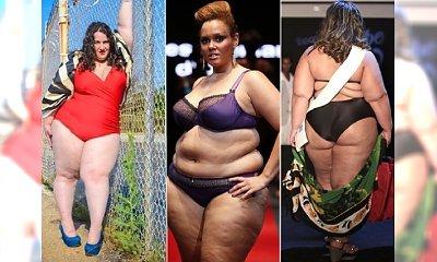 Są grube i dobrze im z tym! Oto największe modelki plus size w bikini!